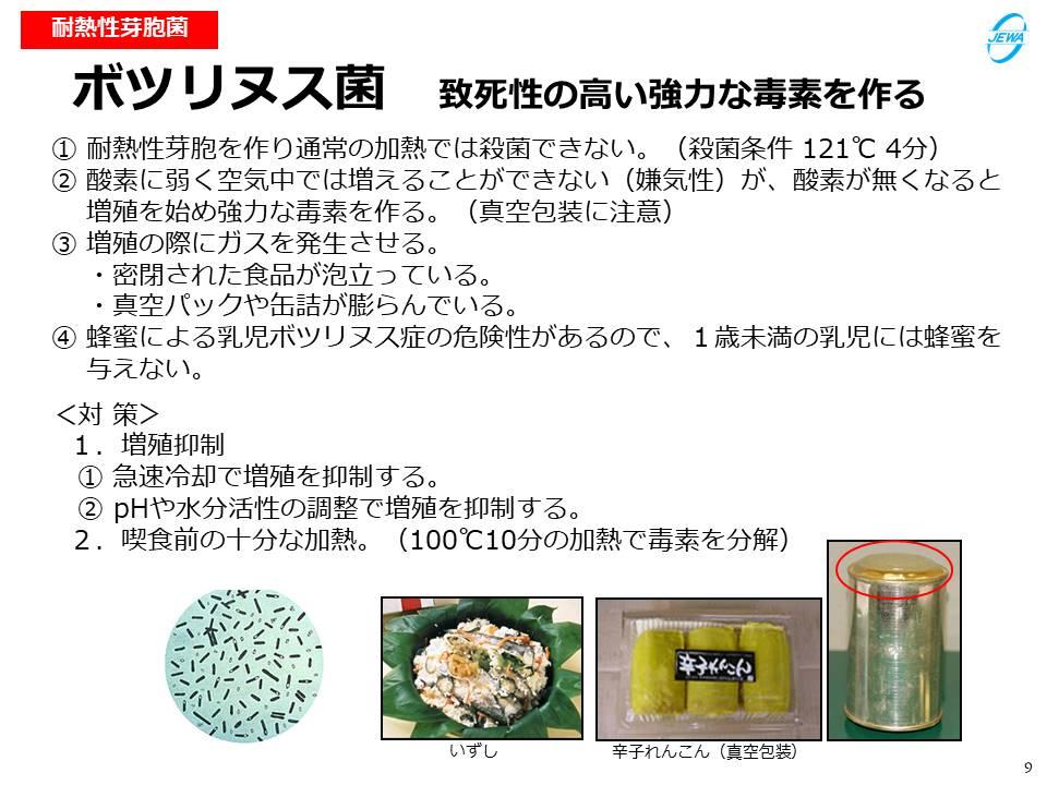 ボツリヌス菌 致死性の高い強力な毒素を作る